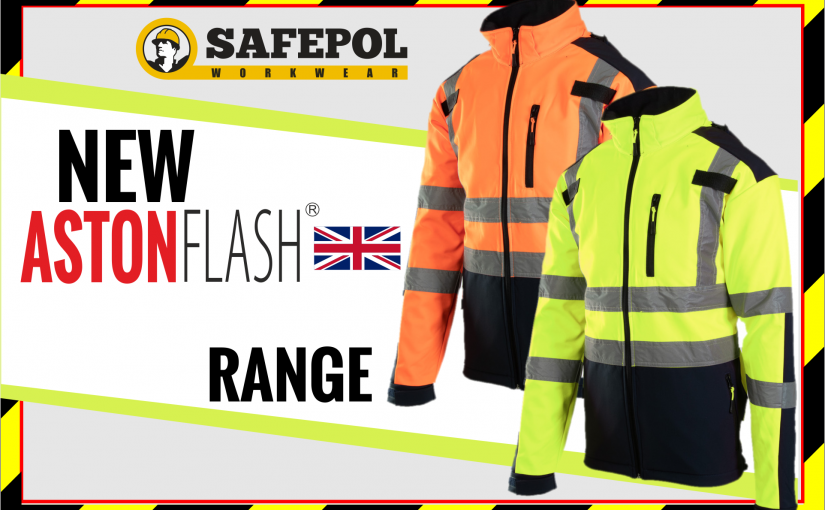 The New ASTON FLASH Hi-Vis Workwear Range available at Safepol Workwear from next week!